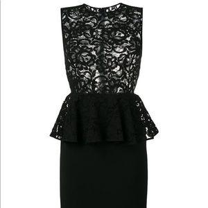 Saint Laurent Dresses - Saint Laurent fall 18 lace top peplum dress new!